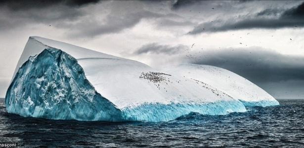 Mudança na velocidade de perda de gelo foi mapeada por dados de cinco satélites diferentes