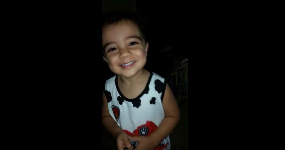 Leonardo e Tatiana enviaram foto do filho Matheus, do Rio de Janeiro (RJ)