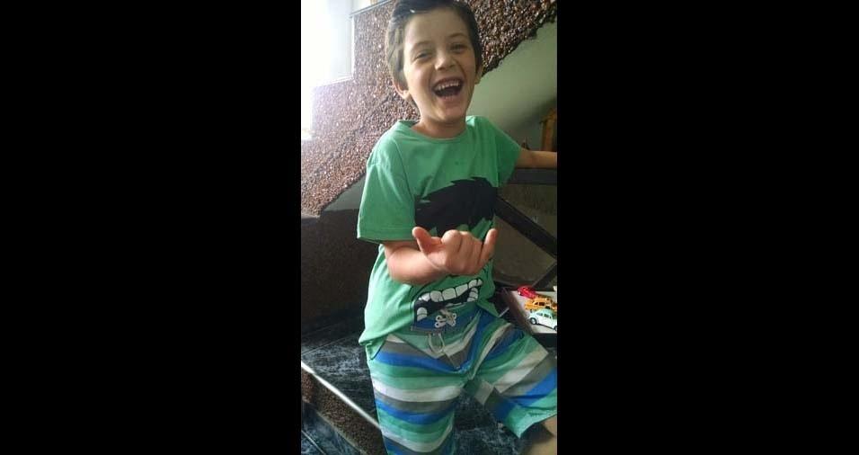 André Luis, de Jaguariúna (SP), enviou foto do filho Anthony Luis