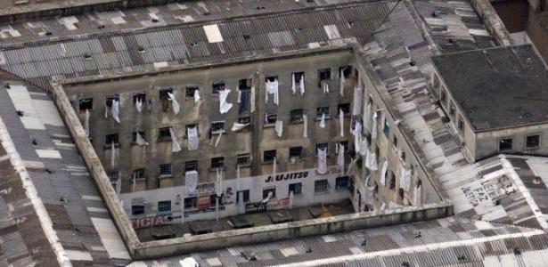 Complexo Penitenciário do Carandiru, palco das mortes de 111 detentos em 1992