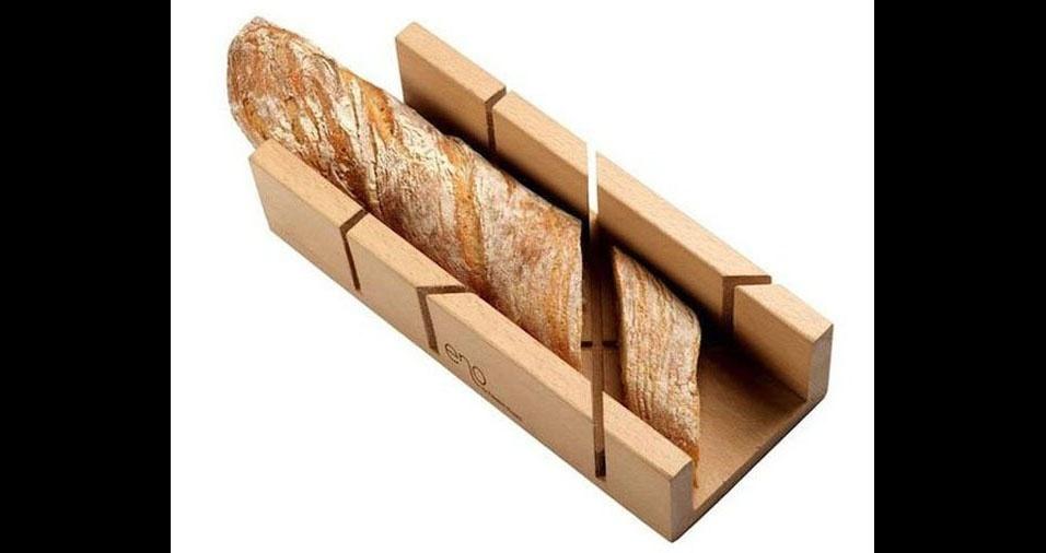 12. Para fazer várias fatias de pão do mesmo tamanho
