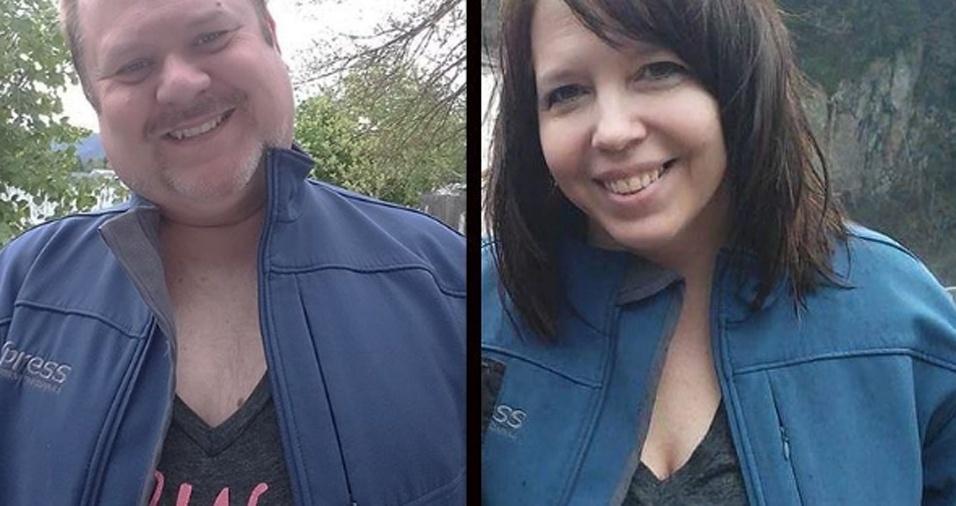 28. A esposa de Chris é outra que também já teve sua foto copiada pela maridão
