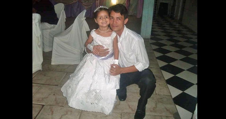 Antônio e sua princesa Gleyciane