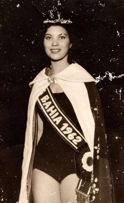 5. Maria Olívia Rebouças - a Miss Bahia de 1962 ficou em 5º lugar no Miss Universo