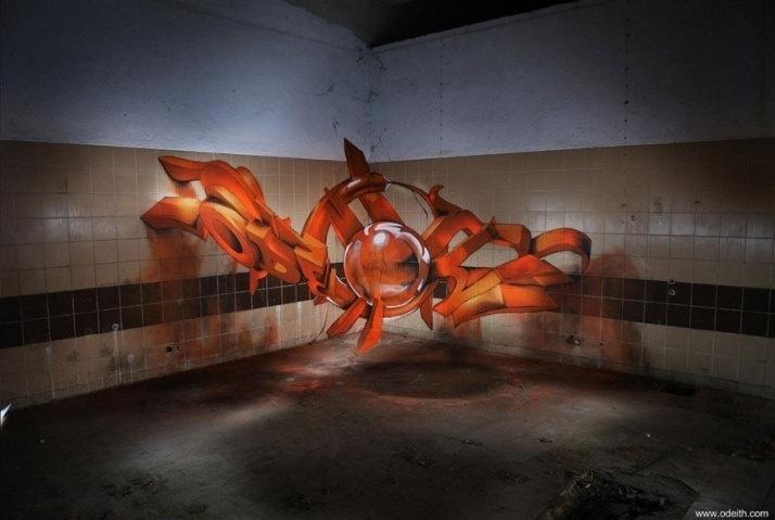 28.dez.2015 - Arte feita pelo português até reflete a luz expressa na pintura