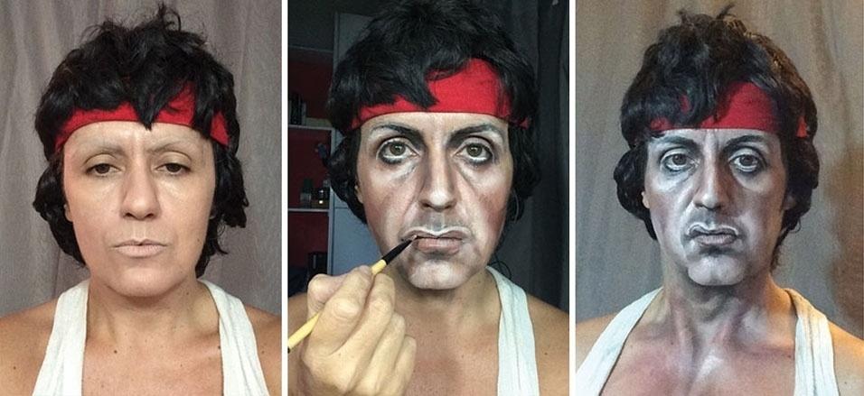 6. Rocky Balboa antes da luta