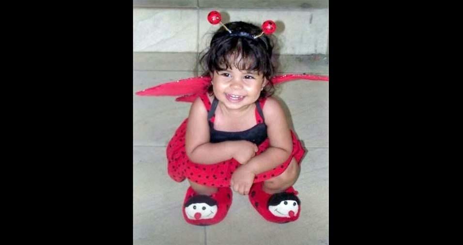 Antonio Eduardo enviou foto da filha Diulha Angelina, de Salvador (BA)