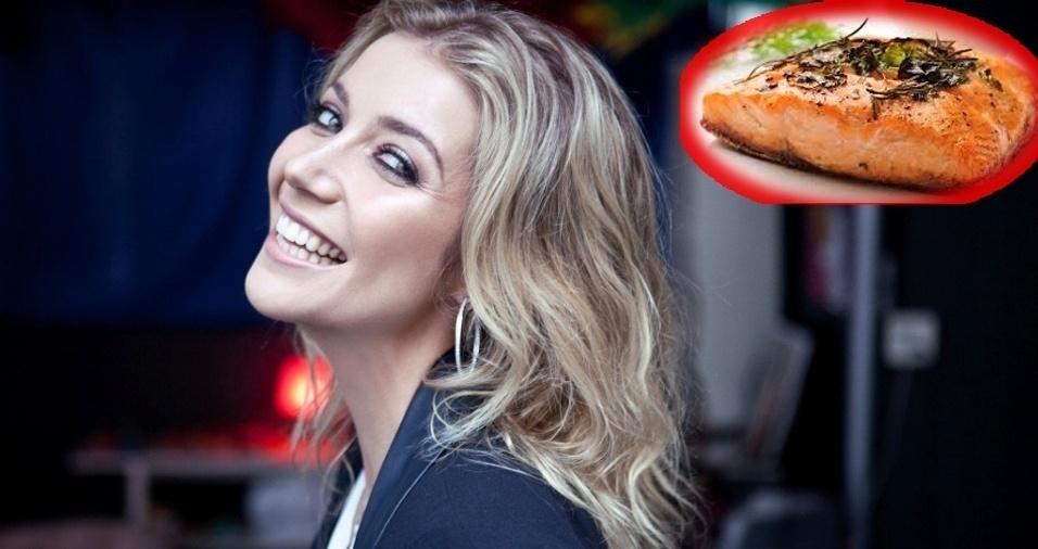 3. Luiza Possi - Salmão ao forno com limão e molho teriaki