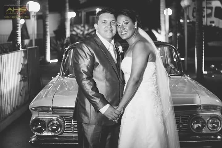 Márcio Ricardo Baptista e Ana Paula da Rocha casaram-se no dia 29 de novembro de 2015, em Limeira (SP)