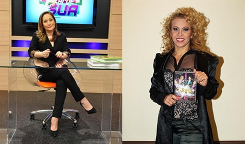 """5.out.2015 - 5.out.2015 - Sonia Abrão comentou, nesta segunda-feira, a atitude da cantora Joelma em um show no final de semana em Teresina, no Piauí. """"Eu mandava Joelma para o inferno"""", disse a apresentadora. Durante o espetáculo, a cantora chorou ao ver Chimbinha no palco. Segundo ela, por medo de ser agredida pelo ex. Sonia Abrão comentou o caso durante seu programa na RedeTV! e disse que, """"se algo terminar mal, foi com a colaboração de Joelma"""""""