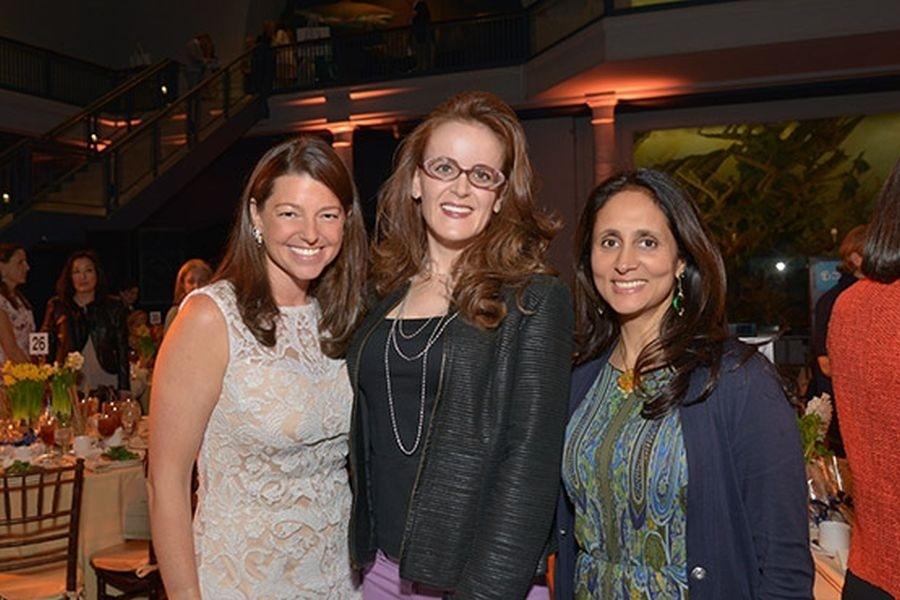 Categoria Titãs: Rebekah Moore (centro), empresária norte-americana