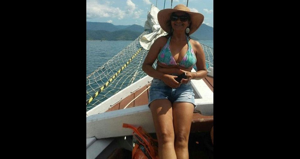 Margarete Aparecida de Souza, 47 anos, de Cruzeiro (SP), conta que ama fotografia e cachorros