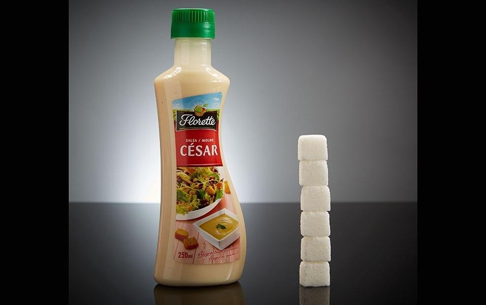 250 ml de molho para salada tem 24 g de açúcar