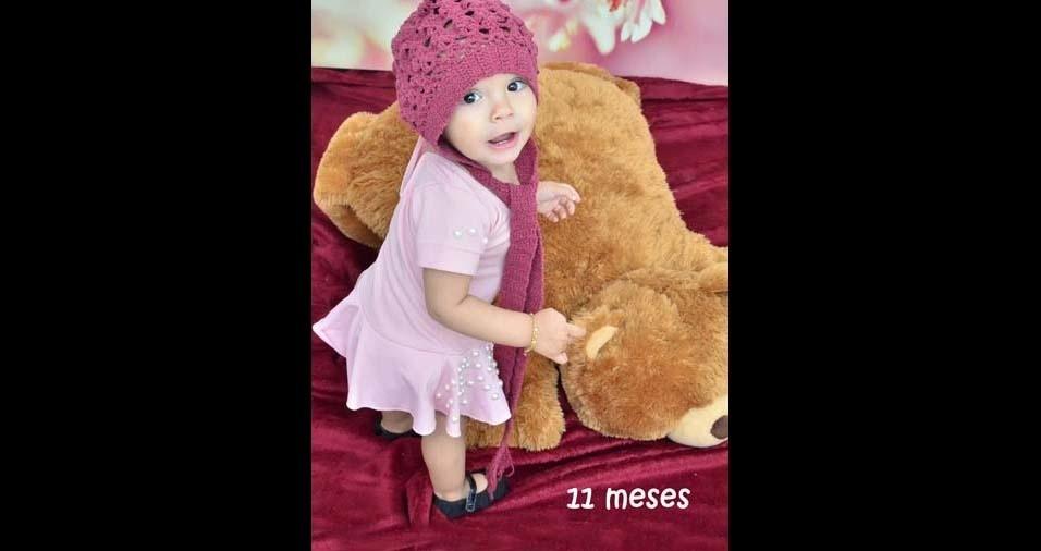 Miqueias, de Guaranésia (MG), enviou foto da filha Maísa