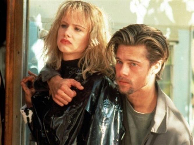 Juliette Lewis e Brad Pitt