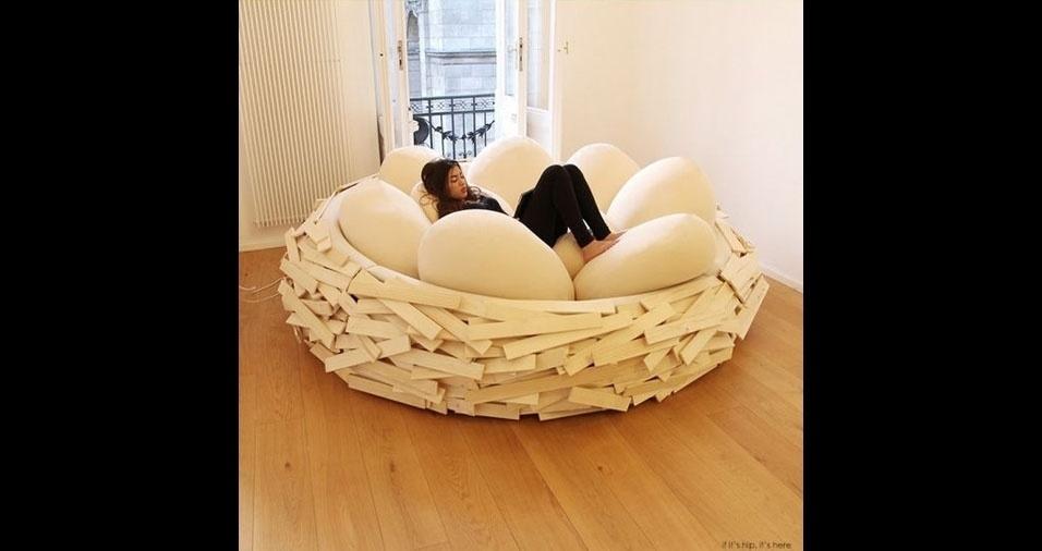 27. Melhor lugar para relaxar: um ninho