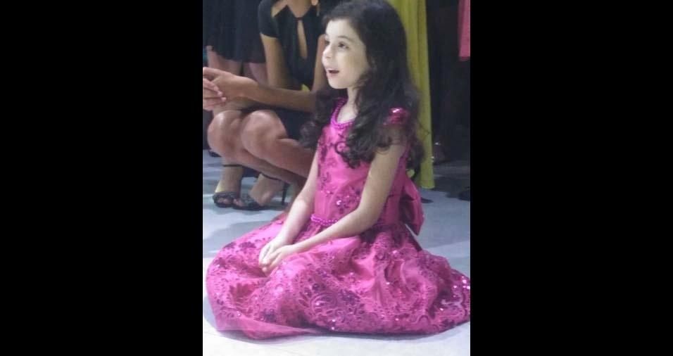 Rodrigo, de Campo dos Goytacazes (RJ), enviou foto da filha Ana Sophia, de seis anos