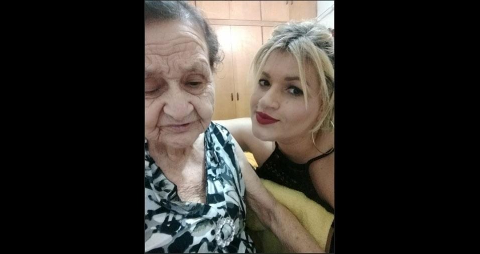"""Lucimara Ribeiro de Queiroz fala sobre sua mãe, Weimar José Ferreira de Sá, de Ribeirão Preto (SP): """"Minha boneca"""""""