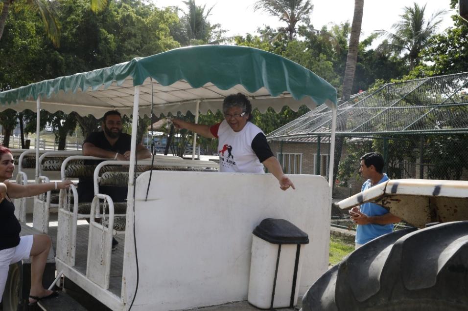 10.mai.2016 - Nas redes sociais, Marlene Mattos agora compartilha fotos de sua rotina como administradora de um hotel fazenda em Aracaju, no Sergipe