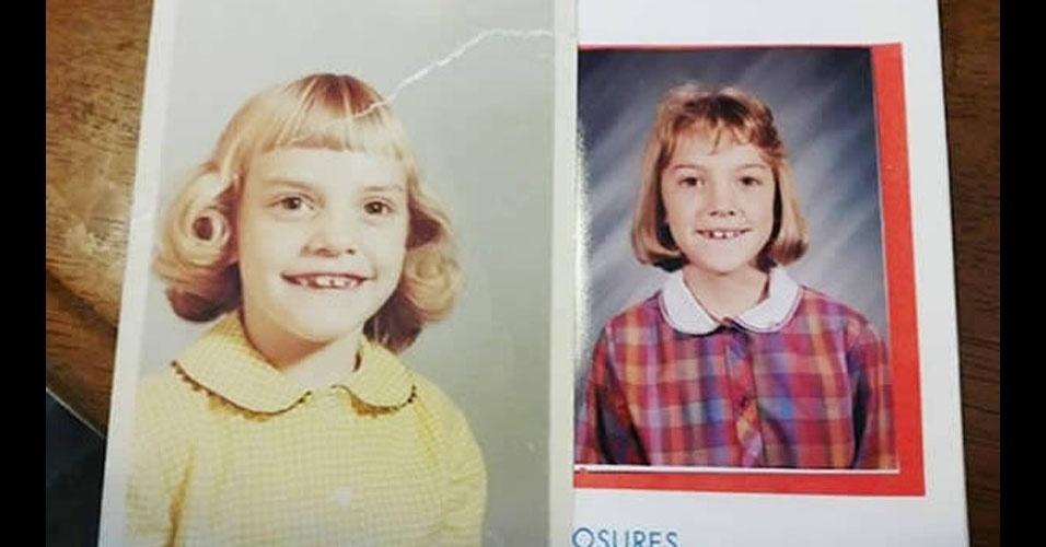 17. Mãe e filha. Os dentes são iguais!