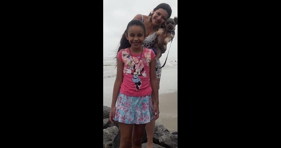 Daniela Almeida dos Santos é a filha da Mariane dos Santos da Silva, de São Paulo (SP)