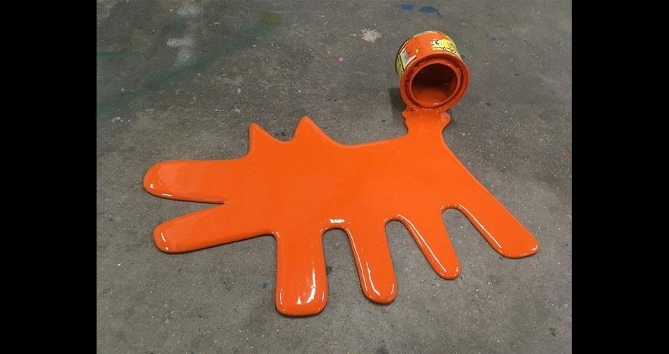 "12. Obra ""Keith Haring Dog"""
