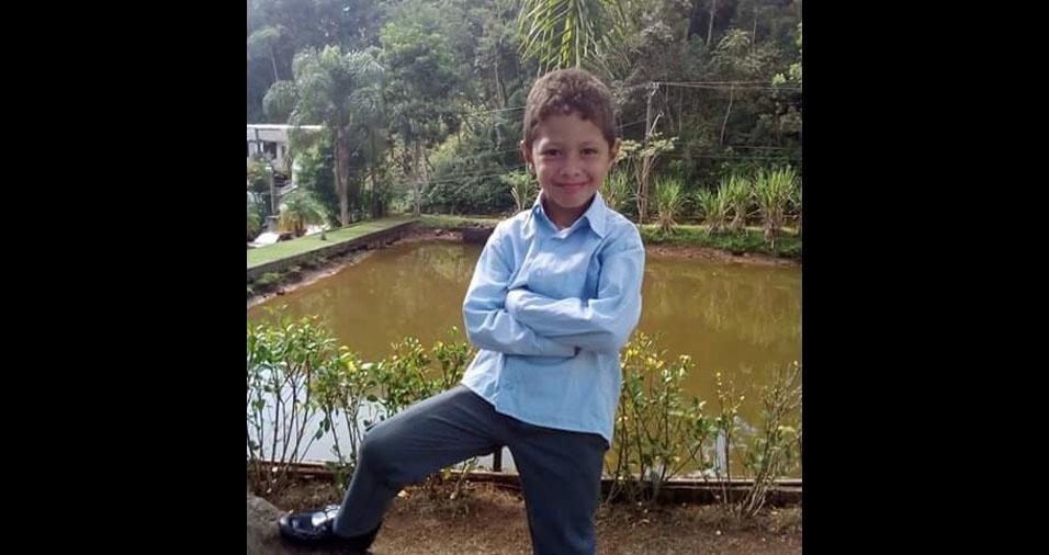 """""""Este é o Pedro Eduardo, meu príncipe, que tanto amo. Eu, sou pai babão"""", conta Winderson de Jesus Costa, de São Paulo (SP)"""