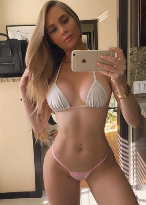 27.dez.2015 - A angelical Amanda Lee já faturou aproximadamente R$ 9 milhões no Instagram, onde possui 2,3 milhões de seguidores
