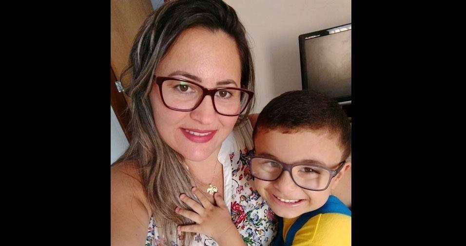 Alessandra Aparecida Alves é a mãe do Marlon, de Itaporanga (PB)