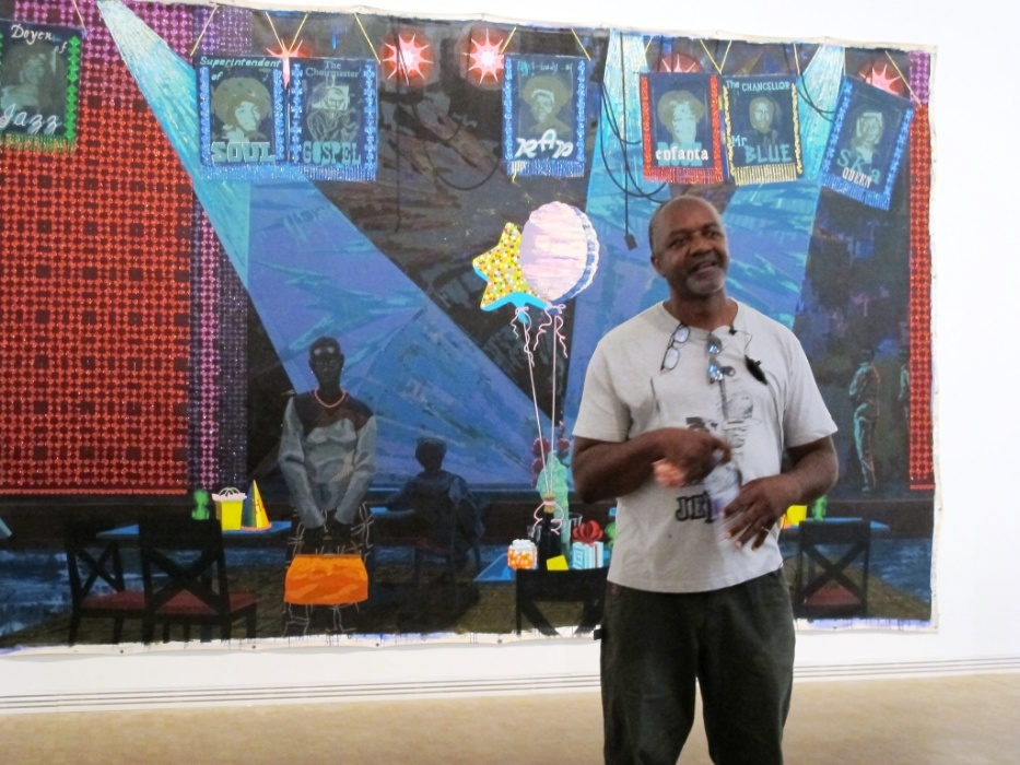 Categoria Artistas: Kerry James Marshall, artista plástico norte-americano