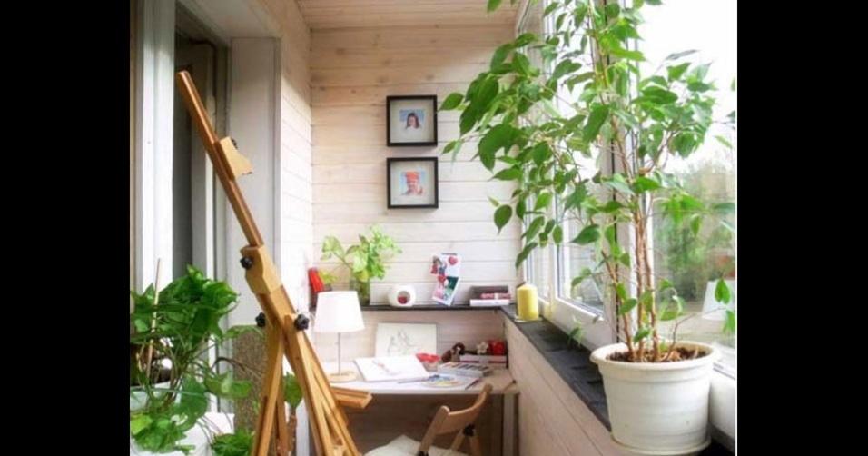 19. Cores e plantas para servirem de inspiração para quem trabalha neste escritório