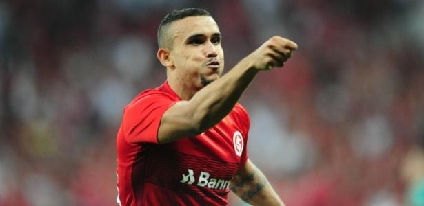 William Pottker tem cinco gols em cinco jogos contra o Palmeiras - Ricardo Duarte/Inter