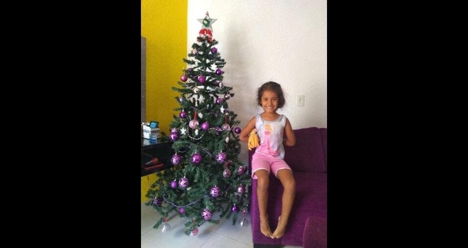 O Natal de Ermelino Matarazzo, de São Paulo, está mais animado com a Sara