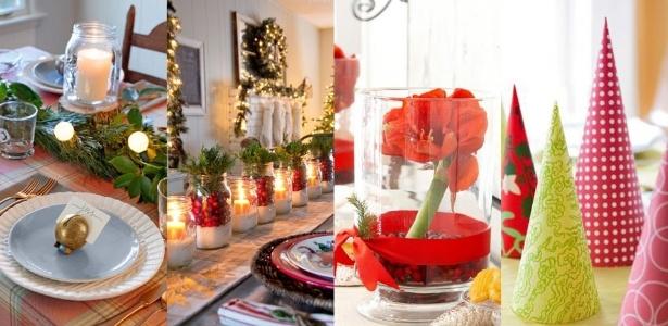 24 ideias para decorar, sem mistérios, sua mesa para a ceia de Natal BOL Fotos BOL Fotos -> Decoração Ceia De Natal Simples