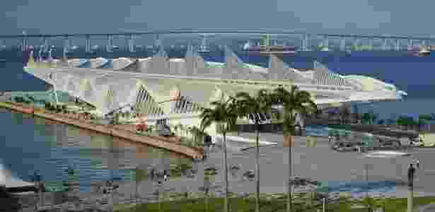 Museu do Amanhã, atração turística que integra o complexo Porto Maravilha, no Rio - Wikipedia