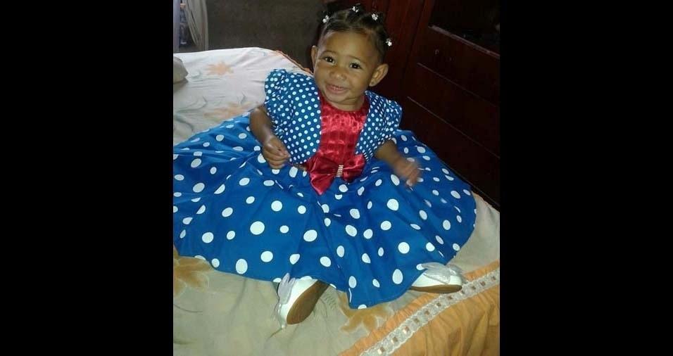 Paulo, de Vila Natal (SP), enviou foto da filha Jullya Karollyne, de três anos