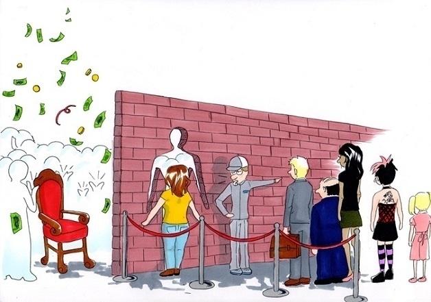 19.ago.2015 - O torneio tem como objetivo lutar contra a desigualdade de gênero. Na foto acima, a obra é de Olga Schikunov, da Alemanha