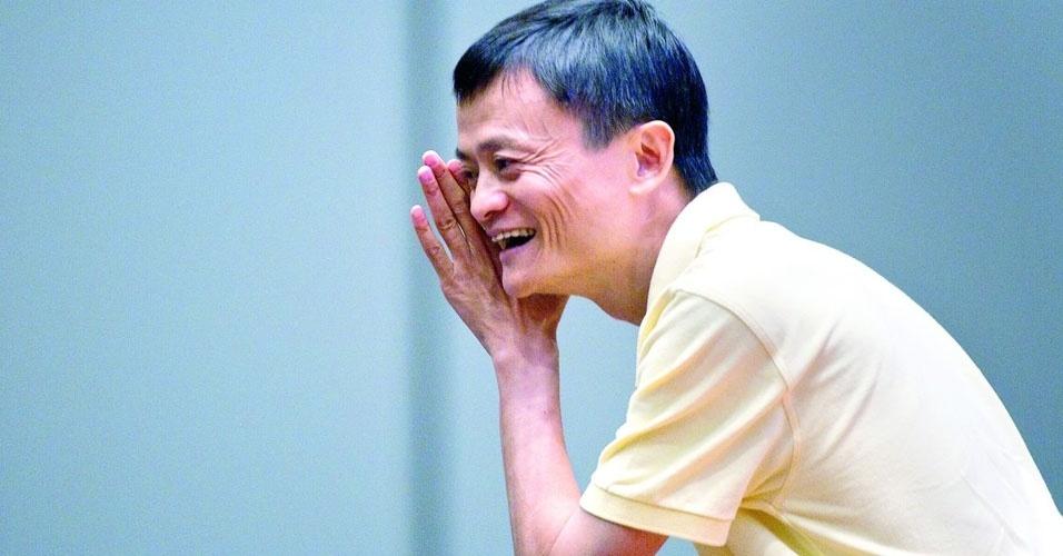 22. Jack Ma, presidente do Alibaba