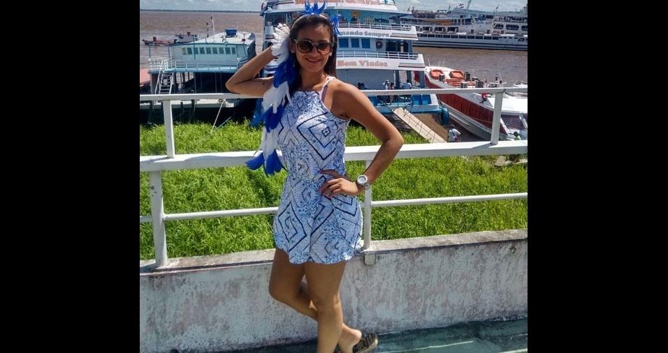 Denise Lima,  30 anos, de  Manaus (AM)