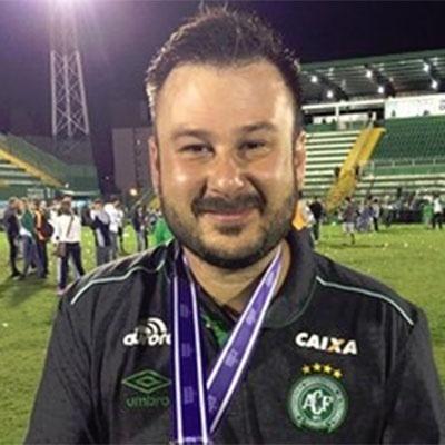 Rafael Gobbato, fisioterapeuta do clube