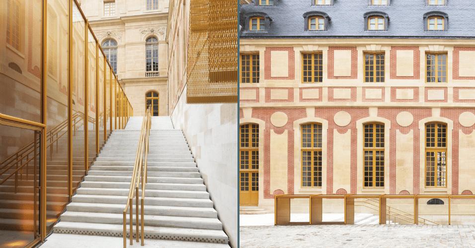 6.mar.2017 - A categoria Melhor Aplicação de Produtos foi vencida pela reforma do Pavilhão Dufour, no Castelo de Versalhes, na França, projeto do arquiteto Dominique Perrault