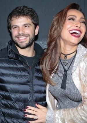 Duda foge de pergunta sobre casamento com Sabrina - Rafael Cusato/Brazil News