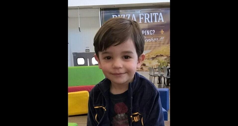 Daniel, três anos, é filho do Junior Melo e da Edineia Almeida Melo, de Paranapanema (SP)