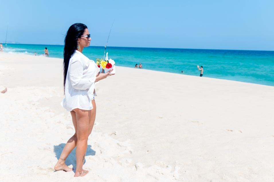 30.dez.2016 - A modelo desfilará pela União da Ilha no Carnaval 2017