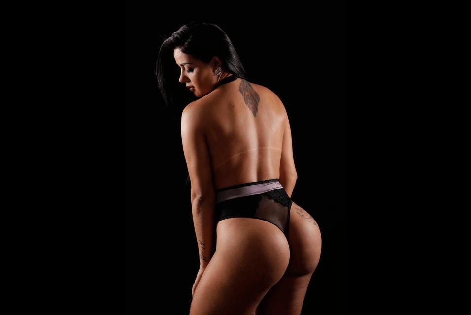 2.fev.2017 - Após perder 6 kg, Carla Reis contou que pretende seguir uma carreira fitness