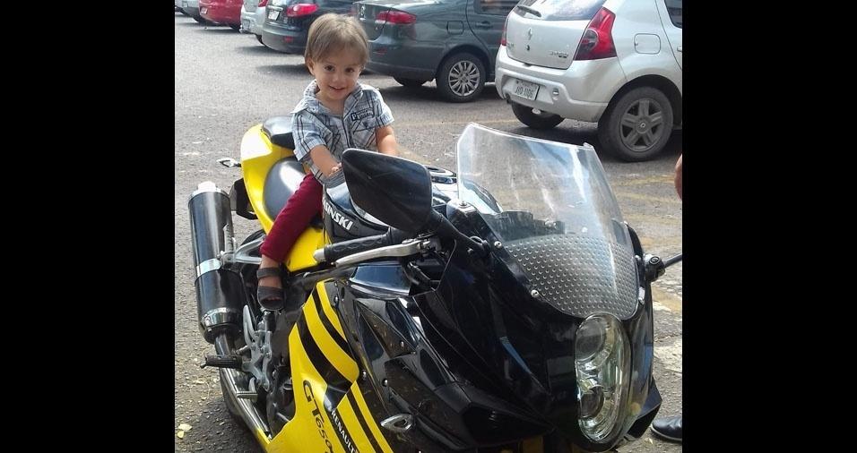 Miguel Bernardo, um ano, é o filho da Andressa Santos, de Brasília (DF)