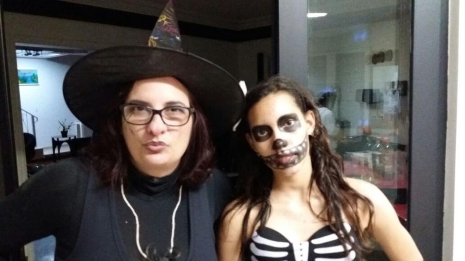 Alessandra Chiampi e Gabriela são de Santana de Parnaíba (SP)