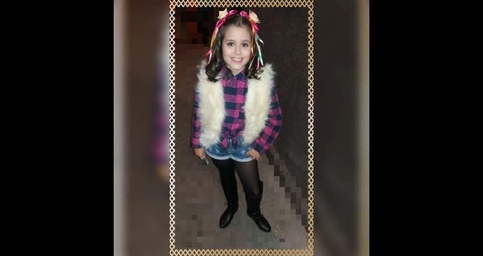 Aurea, de Santo Antônio do Monte (MG), enviou foto da filha Anna Júlia, de dez anos
