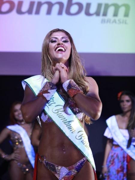 A representante do Amazonas, Rosie Oliveira, foi eleita Miss Bumbum 2017 - Rodrigo Paiva/BOL
