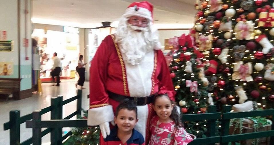 Vovô Marcelo Peixoto, de Messias (AL), enviou foto dos netos Arthur e Mariana, de Messias (AL)